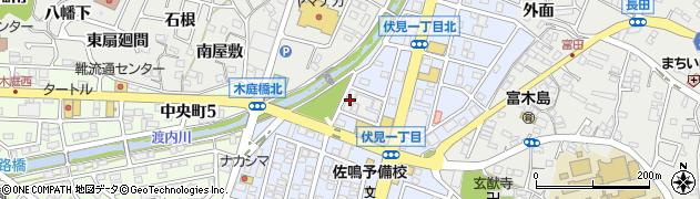 赤と黒周辺の地図