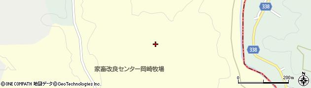 愛知県岡崎市大柳町(栗沢)周辺の地図