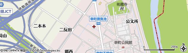 愛知県豊田市幸町(勝負池)周辺の地図