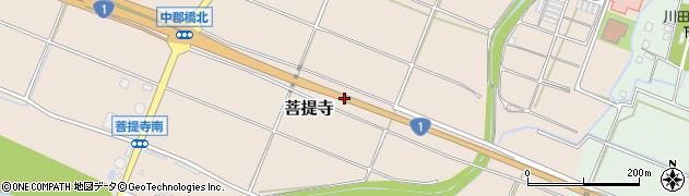 一般国道1号周辺の地図