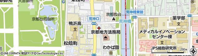 京都府京都市上京区上生洲町周辺の地図