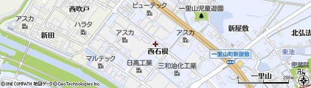 愛知県刈谷市一里山町(西石根)周辺の地図