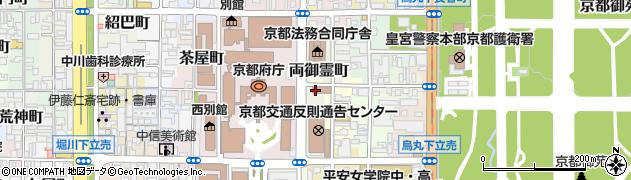 京都府京都市上京区西出水町周辺の地図