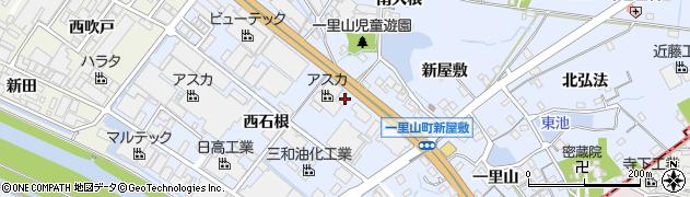 愛知県刈谷市一里山町(東石根)周辺の地図