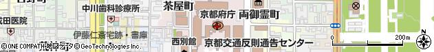 京都府周辺の地図