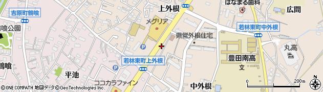 ファミリー周辺の地図