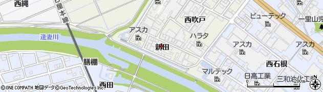 愛知県刈谷市今岡町(新田)周辺の地図