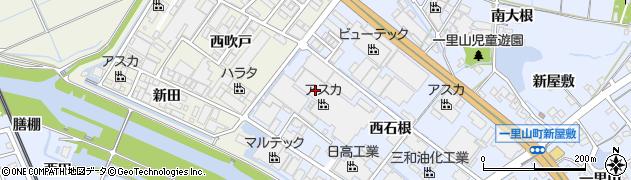 愛知県刈谷市一里山町(東吹戸)周辺の地図