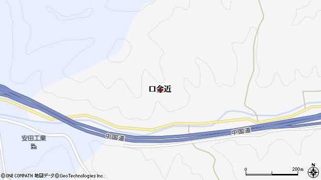 〒679-5346 兵庫県佐用郡佐用町口金近の地図
