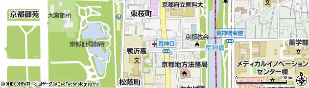 京都府京都市上京区宮垣町周辺の地図