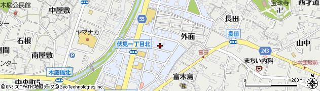富木島寿司周辺の地図