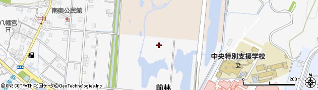 静岡県静岡市葵区前林周辺の地図