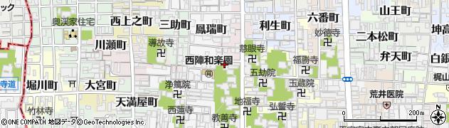 京都府京都市上京区三番町周辺の地図