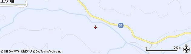 京都府亀岡市畑野町土ケ畑(山中)周辺の地図