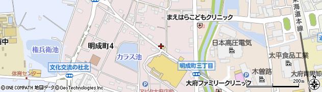味のがんこ炎大府店周辺の地図