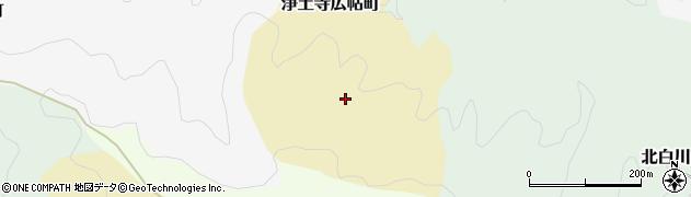 京都府京都市左京区浄土寺広帖町周辺の地図