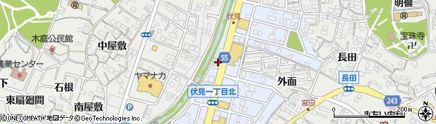 伽紗周辺の地図