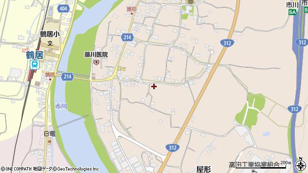 〒679-2337 兵庫県神崎郡市川町屋形の地図