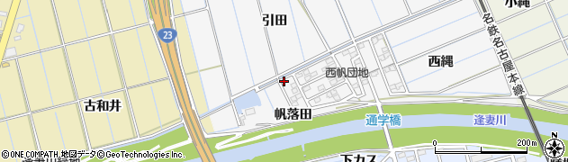 愛知県刈谷市今川町(東古和井)周辺の地図