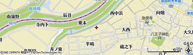 愛知県刈谷市泉田町(乗末)周辺の地図