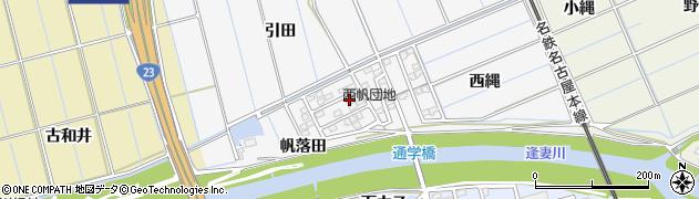 愛知県刈谷市今川町(帆落田)周辺の地図