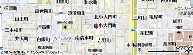 仙宗寺周辺の地図