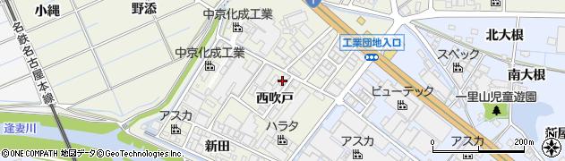 愛知県刈谷市今岡町(西吹戸)周辺の地図