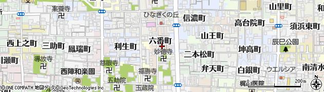 大通院周辺の地図