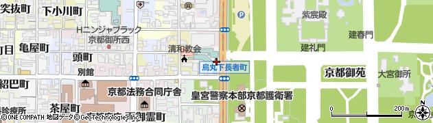 京都府京都市上京区元浄花院町周辺の地図