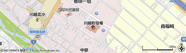 三重県川越町(三重郡)周辺の地図
