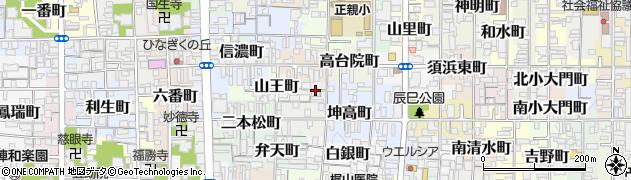 京都府京都市上京区長谷町周辺の地図