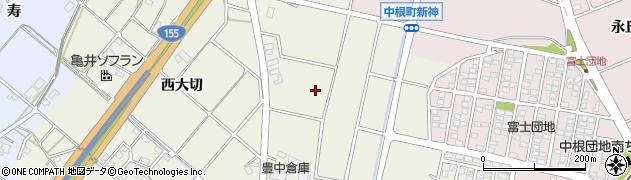 愛知県豊田市花園町(東大切)周辺の地図