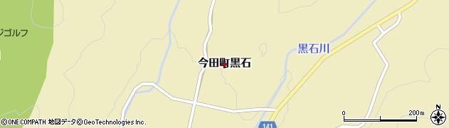 兵庫県丹波篠山市今田町黒石周辺の地図