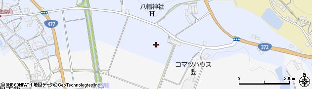 京都府亀岡市本梅町中野(堂ノ前)周辺の地図