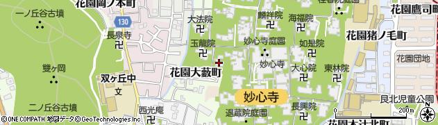 通玄院周辺の地図