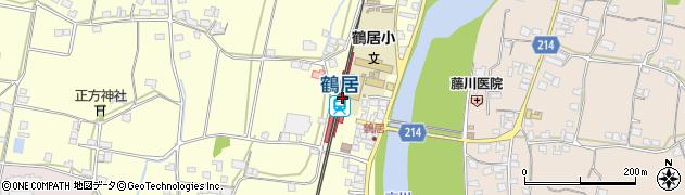 兵庫県神崎郡市川町周辺の地図