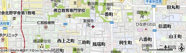 京都府京都市上京区二番町周辺の地図