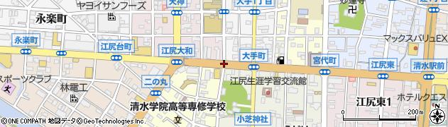 小芝町西周辺の地図