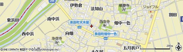 愛知県刈谷市泉田町(大木屋)周辺の地図