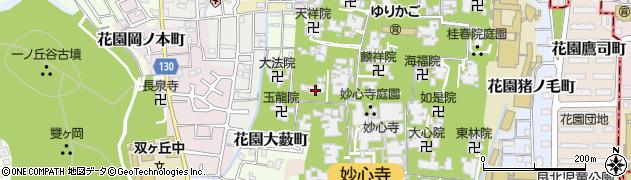 大竜院周辺の地図