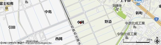 愛知県刈谷市今岡町(小縄)周辺の地図