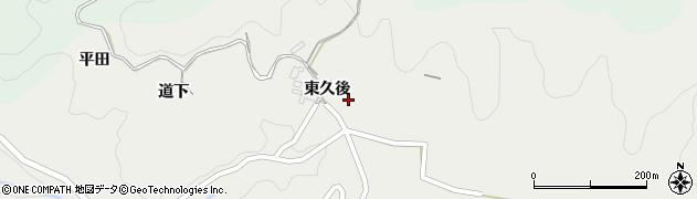 愛知県岡崎市渡通津町周辺の地図