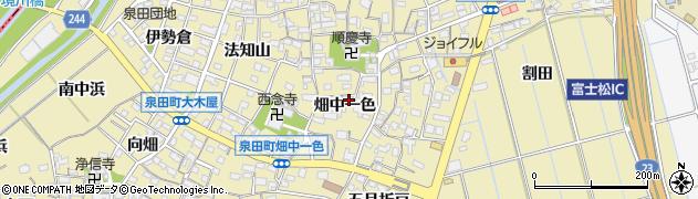 愛知県刈谷市泉田町(畑中一色)周辺の地図