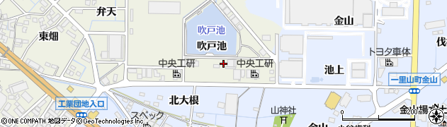 愛知県刈谷市今岡町(吹戸池)周辺の地図