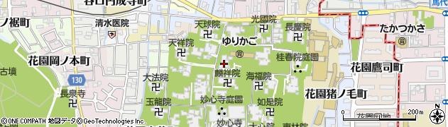智勝院周辺の地図