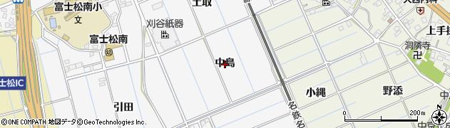 愛知県刈谷市今川町(中島)周辺の地図