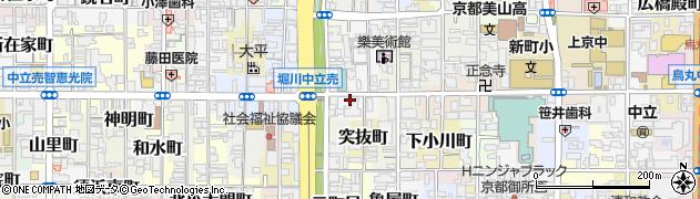 京都府京都市上京区東橋詰町周辺の地図