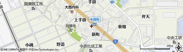 愛知県刈谷市今岡町(下手掛)周辺の地図