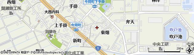 愛知県刈谷市今岡町(東畑)周辺の地図