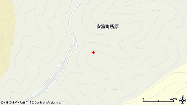 〒671-2414 兵庫県姫路市安富町杤原の地図